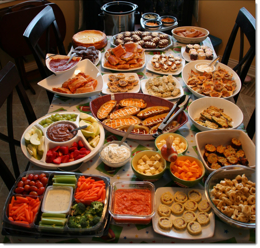 How To Plan Party Menu