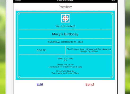 Checkout the new Invitation Module of Pro Party Planner!